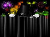 Magic hat — Stock Vector
