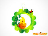 Easter decoration — Stock Vector