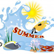 Summer concept — Stock Vector #41534585