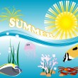 Summer concept — Stock Vector #41655903