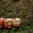 Balinese masks — Stock Photo #12454872