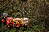 Balinese masks — Stock Photo