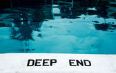 The deep end — Stock Photo