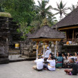 Balinese Hindus — Stock Photo