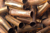 Used .30 carbine shell casing — Stock Photo