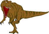 Dinozaur atakuje — Wektor stockowy