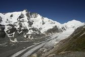 Grossglockner gletsjer — Stockfoto