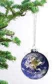 The world as an ornament — Stock Photo