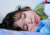 Beautiful sleeping boy — Stock Photo