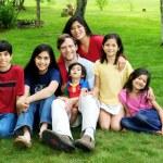Multiracial family — Stock Photo #21347659