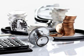 Financial health concept — Stock Photo