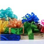 Colorful Christmas presents — Stock Photo #2720050