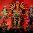 Durga Idol, traditional, worship, Hindu, Hinduism, Bengal cultur — Foto Stock