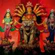 Durga Idol, traditional, worship, Hindu, Hinduism, Bengal cultur — Stockfoto