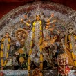 Durga Idol, traditional, worship, Hindu, Hinduism, Bengal culture, extravagant, earthen, colorful, travel — Foto Stock