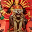 Durga Idol, traditional, worship, Hindu, Hinduism, Bengal cultur - Stock Photo