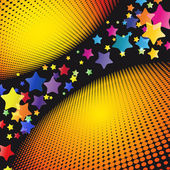 Party Stars Background. — Vettoriale Stock