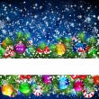 Christmas background — Stock Vector #12747763