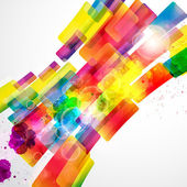 Abstract background forming by watercolor paint splashes. — Stock Vector