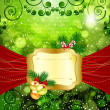 Royalty-Free Stock Vector Image: Christmas bright background with place for text.