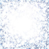 Abstract Christmas background with soft fluffy snow. — Stock Vector