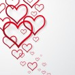 Royalty-Free Stock Imagen vectorial: Vector illustration abstract Valentines Day Background.