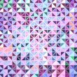 Colorful Mosaic Abstract Vector Background - Stock Vector
