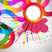 Abstract background with vector design elements. — ストックベクタ