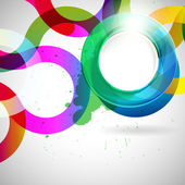 Abstract background with vector design elements. — Stockvektor