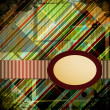 Abstract Retro Background. Vector Illustration. — Imagens vectoriais em stock