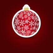 Noel arka plan. etiket top. vektör çizim. — Stok Vektör