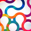 Abstract background with rounded design elements. — 图库矢量图片