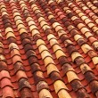 Old roof tiles backround. — Stock Photo