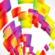 Multicolor abstract bright background. Elements for design. Eps1 — Stockvektor