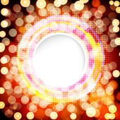 Abstract digital background with a round space for your text. — Vettoriale Stock