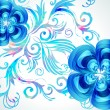 Decoration floral vector background. — Image vectorielle