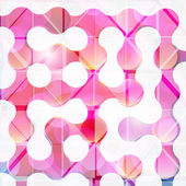 Abstract geometric background for design — Stock Vector