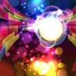 Abstract lights background. Vector. — 图库矢量图片