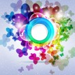 Abstract colorful background. Vector illustration. — Imagen vectorial