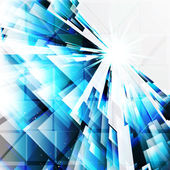 Resumo elementos de design turquesa sobre um fundo claro. — Vetorial Stock