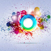 Abstract colorful background. Vector illustration. — Vetorial Stock