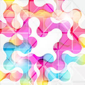 Abstract geometric background for design — 图库矢量图片