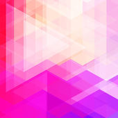 Abstract neon colorful triangle pattern background. — Vector de stock