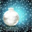 Background with Christmas balls. vector illustration — Stock Vector