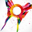 Multicolor abstract bright background. Elements for design. — Vettoriali Stock