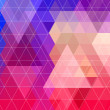Abstract triangle pattern background. Vector. — Stock Vector