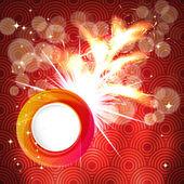 Motif de fond de nouvel an chinois. illustration vectorielle. — Vecteur