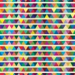 Stock Vector: Multicolor abstract bright background with triangles. Elements f