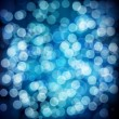 Blue festive background. Elegant abstract background with bokeh — Stock Vector