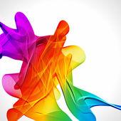 Sfondo luminoso astratto multicolor. elementi per la progettazione. — Vettoriale Stock